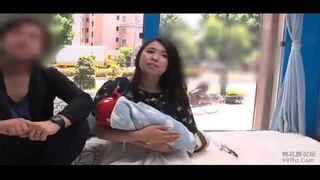 【エロ動画】巨乳の奥様人妻の、中出し昇天膣内射精プレイが、マジックミラー号で!!いいおっぱいですね!