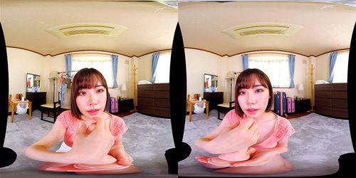 【VR】スレンダーな、深田えいみの淫語絶頂誘惑無料エロ動画。【主観、着エロ動画】