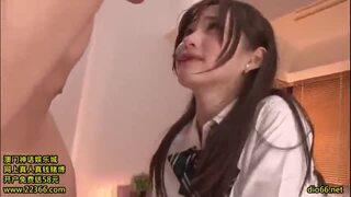 【エロ動画】激カワでエロい着衣の女子校生女の子、天使もえのフェラ騎乗位セックスプレイエロ動画。可愛らしすぎる!