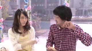 マジックミラー号にて、巨乳の女子大生素人の、クンニフェラ中出し無料H動画!【女子大生、素人動画】
