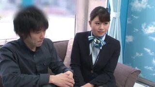 MM号にて、巨乳で制服姿の素人美女の、着エロ騎乗位素股無料エロ動画!【sex動画】