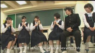 【美少女 ハーレム】制服姿の美少女の、ハーレムプレイエロ動画!!【エロ動画】