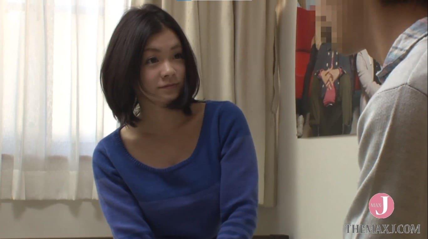 鶴田かなにセックスの練習をお願い