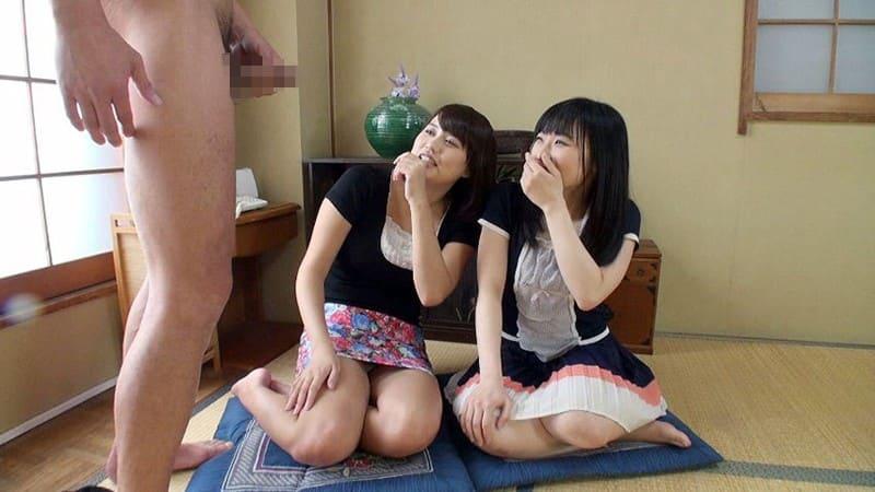 他人棒センズリに釘付けな横尾咲希