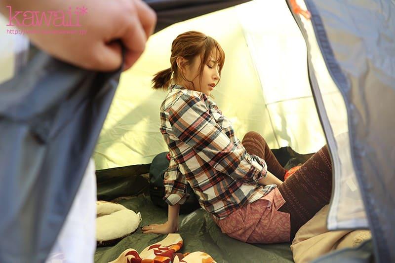 隣のテントはソロキャンプ初めての人妻さん