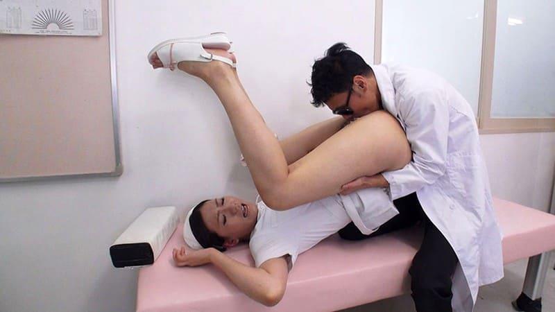 看護婦をマングリクンニリングス