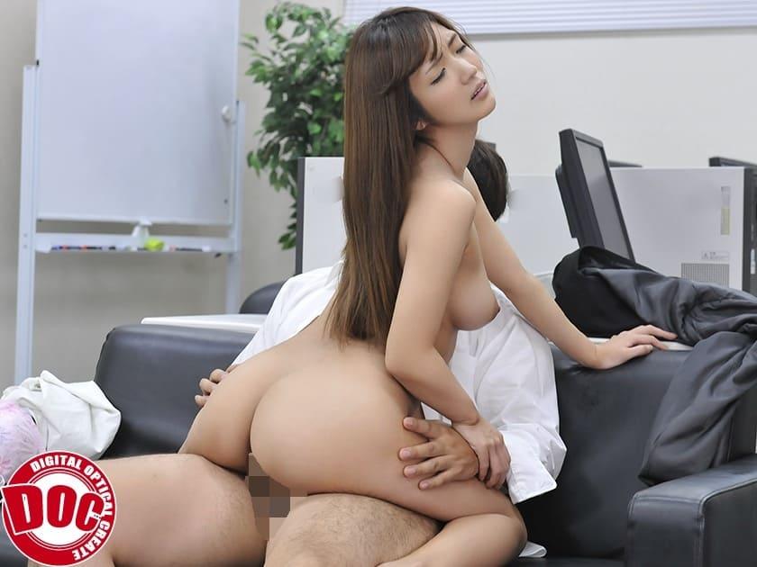 美人女上司とセックス