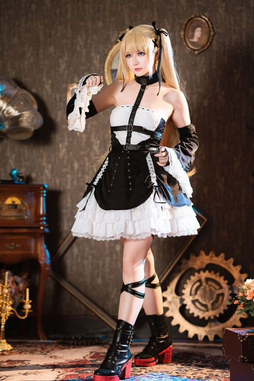 『DEAD or ALIVE』マリー・ローズ(Marie Rose)Cosplay 27