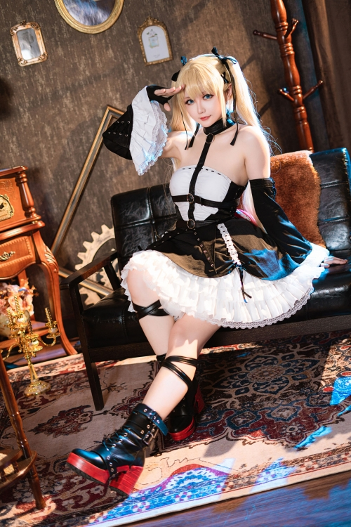『DEAD or ALIVE』マリー・ローズ(Marie Rose)Cosplay 32