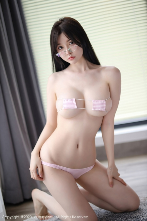 糯美子Minibabe 眼帯ビキニ 04