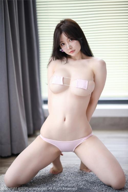 糯美子Minibabe 眼帯ビキニ 06