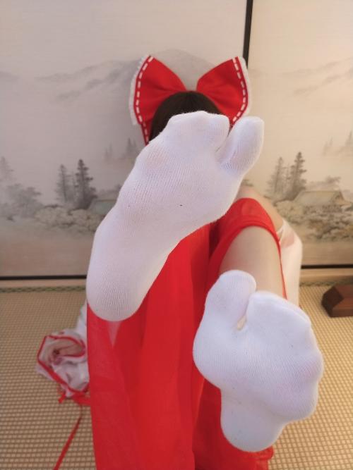 蜜汁猫裘 「博麗霊夢(東方Project)」 巫女コスプレ 54