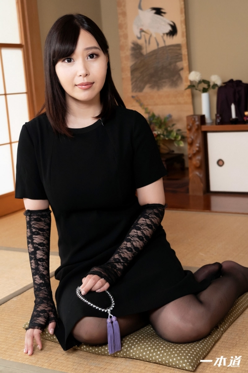 小川桃果 未亡人の性 | 無修正動画 一本道 02