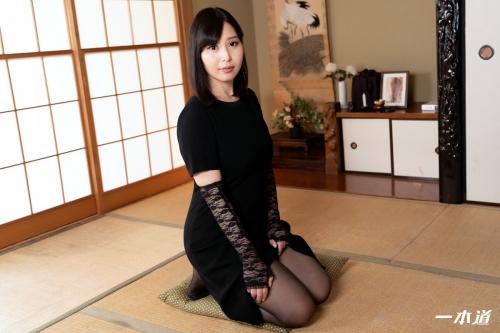 小川桃果 未亡人の性 | 無修正動画 一本道 03