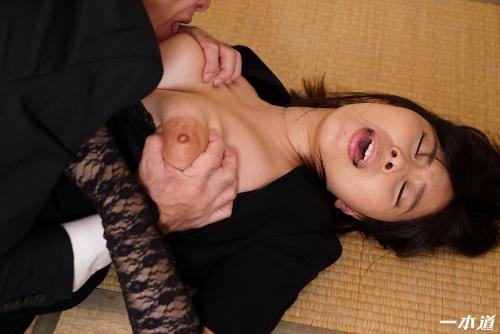 小川桃果 未亡人の性 | 無修正動画 一本道 17