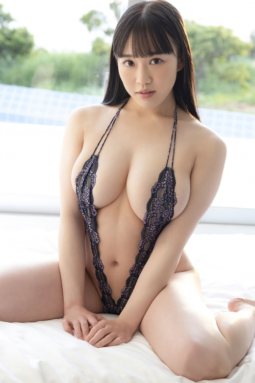 変態露出のV字水着 (Sling Bikini) エロ画像 10