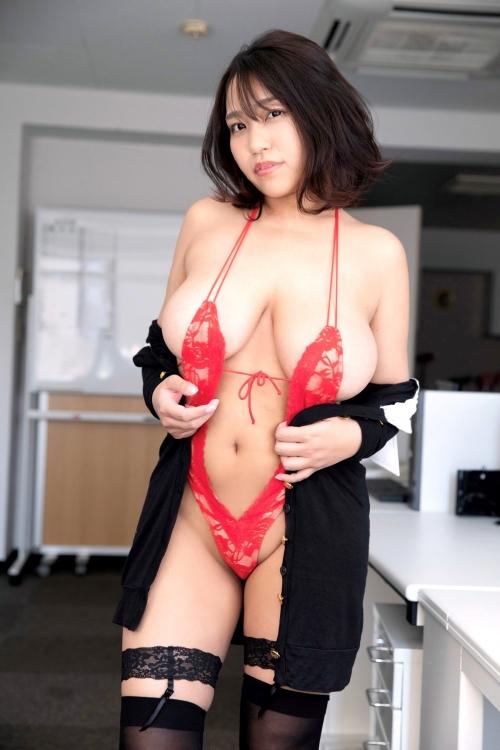 変態露出のV字水着 (Sling Bikini) エロ画像 24