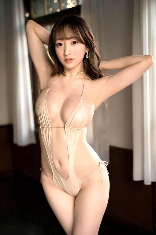 変態露出のV字水着 (Sling Bikini) エロ画像 25