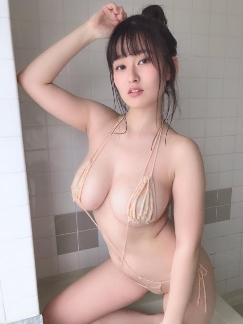 変態露出のV字水着 (Sling Bikini) エロ画像 51