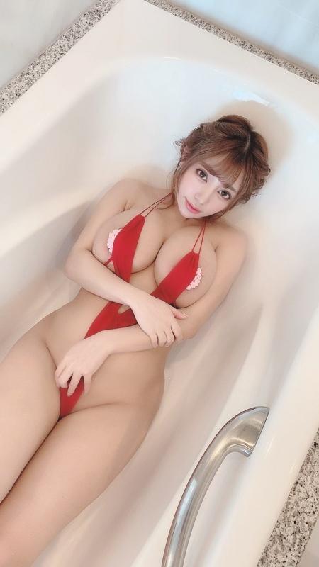 変態露出のV字水着 (Sling Bikini) エロ画像 53