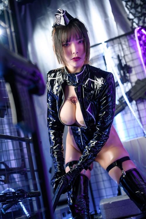 秋和柯基(夏小秋秋秋) XiaXiaoqiu Bondage cosplay 04