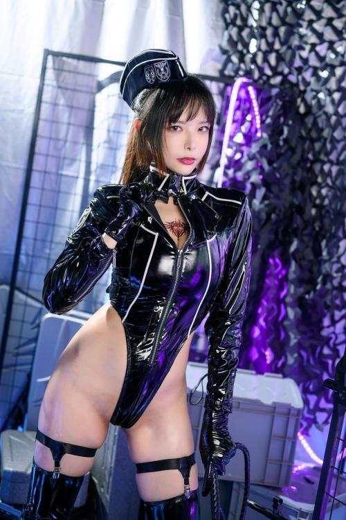 秋和柯基(夏小秋秋秋) XiaXiaoqiu Bondage cosplay 06