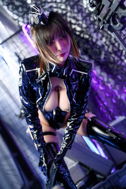 秋和柯基(夏小秋秋秋) XiaXiaoqiu Bondage cosplay 07