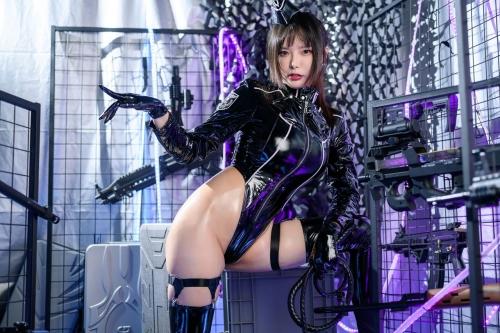 秋和柯基(夏小秋秋秋) XiaXiaoqiu Bondage cosplay 08