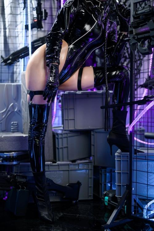 秋和柯基(夏小秋秋秋) XiaXiaoqiu Bondage cosplay 11