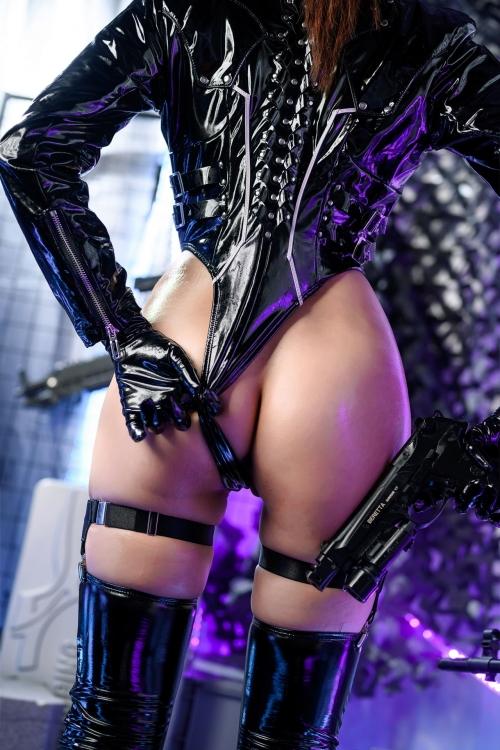秋和柯基(夏小秋秋秋) XiaXiaoqiu Bondage cosplay 13