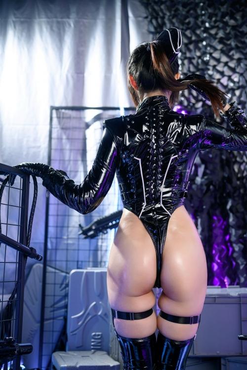 秋和柯基(夏小秋秋秋) XiaXiaoqiu Bondage cosplay 16