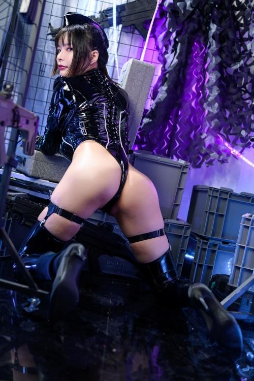 秋和柯基(夏小秋秋秋) XiaXiaoqiu Bondage cosplay 17