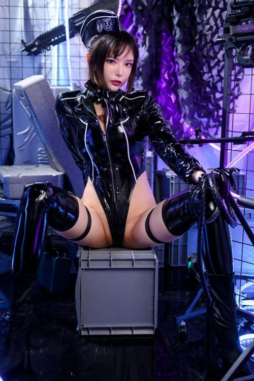 秋和柯基(夏小秋秋秋) XiaXiaoqiu Bondage cosplay 21