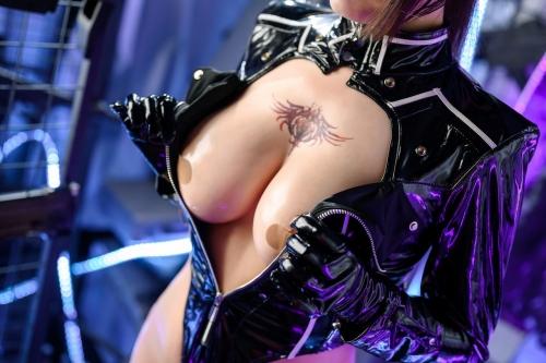 秋和柯基(夏小秋秋秋) XiaXiaoqiu Bondage cosplay 25