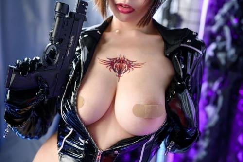 秋和柯基(夏小秋秋秋) XiaXiaoqiu Bondage cosplay 27