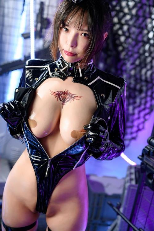 秋和柯基(夏小秋秋秋) XiaXiaoqiu Bondage cosplay 28