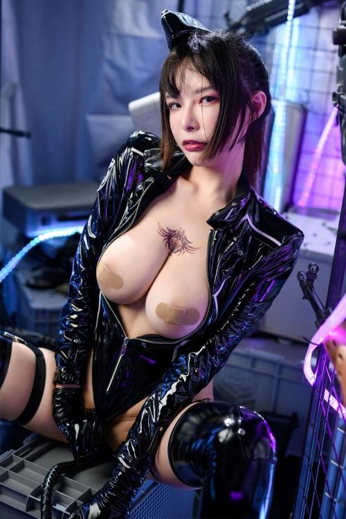 秋和柯基(夏小秋秋秋) XiaXiaoqiu Bondage cosplay 29