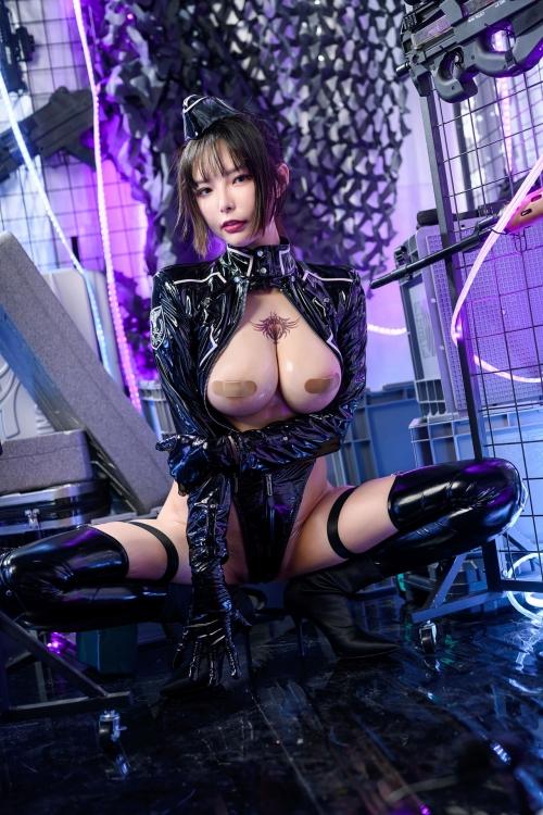 秋和柯基(夏小秋秋秋) XiaXiaoqiu Bondage cosplay 32