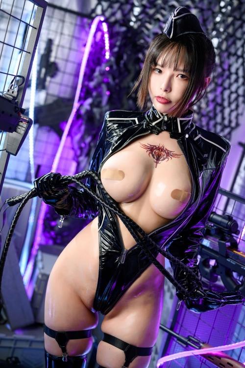 秋和柯基(夏小秋秋秋) XiaXiaoqiu Bondage cosplay 34