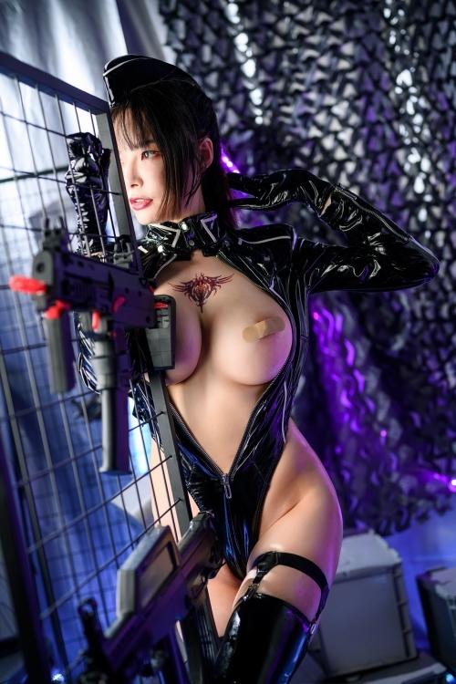 秋和柯基(夏小秋秋秋) XiaXiaoqiu Bondage cosplay 38