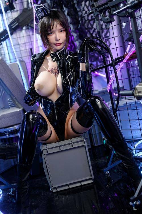 秋和柯基(夏小秋秋秋) XiaXiaoqiu Bondage cosplay 39