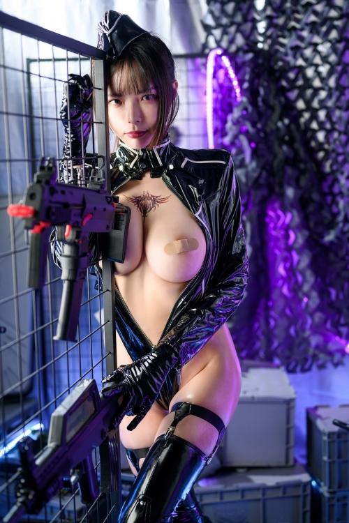 秋和柯基(夏小秋秋秋) XiaXiaoqiu Bondage cosplay 41