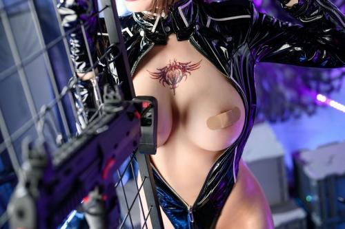 秋和柯基(夏小秋秋秋) XiaXiaoqiu Bondage cosplay 48