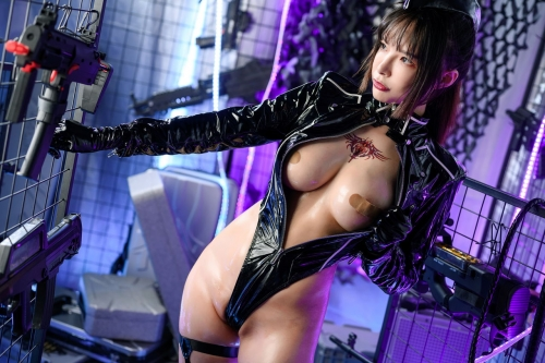秋和柯基(夏小秋秋秋) XiaXiaoqiu Bondage cosplay 51