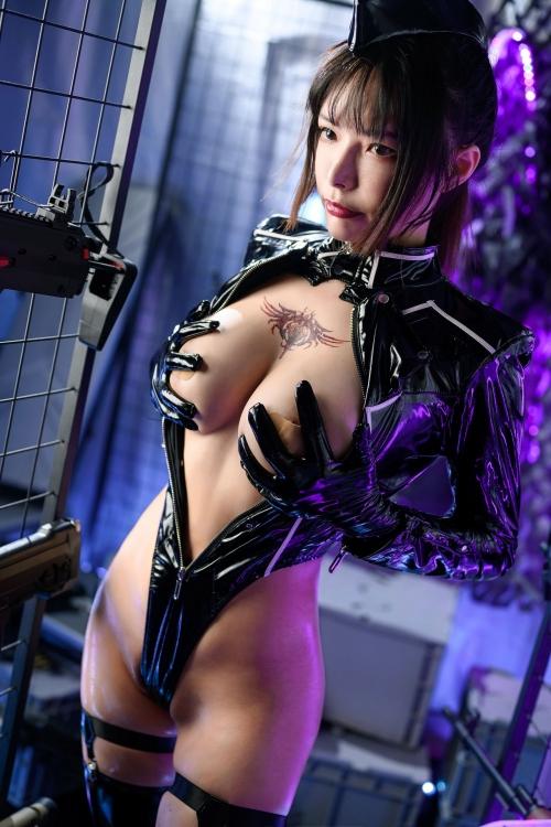 秋和柯基(夏小秋秋秋) XiaXiaoqiu Bondage cosplay 52