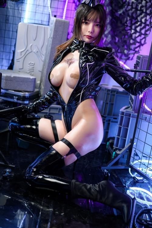 秋和柯基(夏小秋秋秋) XiaXiaoqiu Bondage cosplay 53