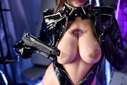 秋和柯基(夏小秋秋秋) XiaXiaoqiu Bondage cosplay 54