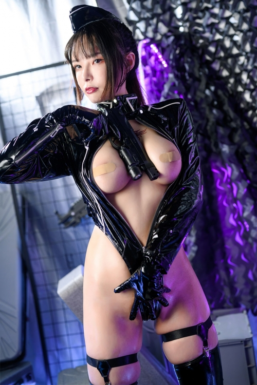 秋和柯基(夏小秋秋秋) XiaXiaoqiu Bondage cosplay 55