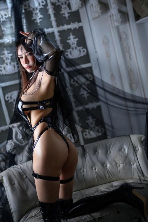 秋和柯基(夏小秋秋秋) XiaXiaoqiu Bondage cosplay 58