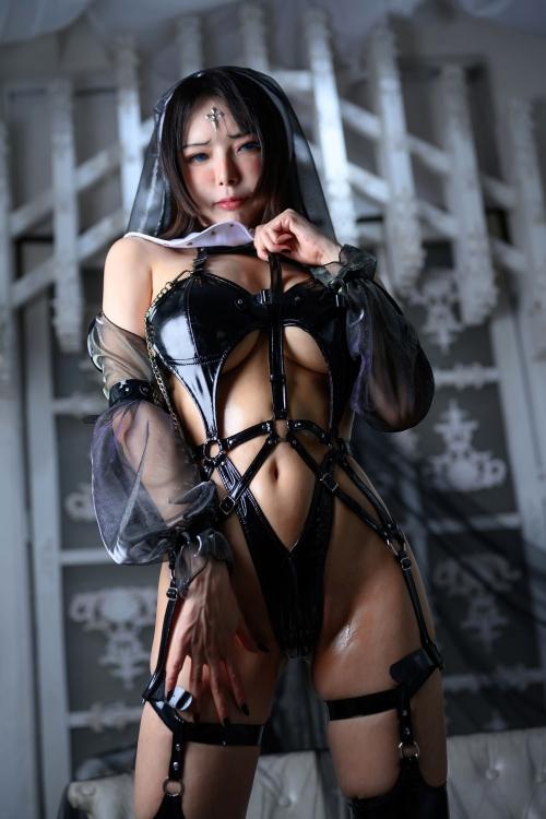 秋和柯基(夏小秋秋秋) XiaXiaoqiu Bondage cosplay 59